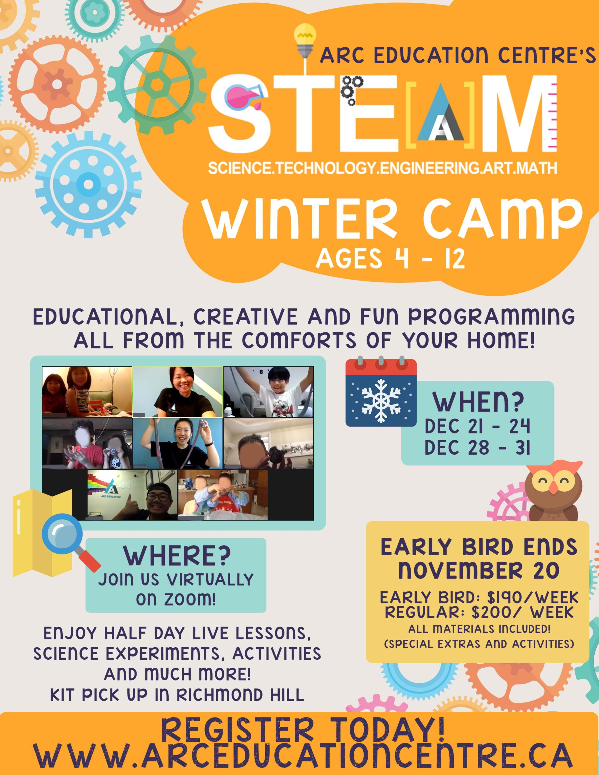 S.T.E.A.M. VIRTUAL WINTER CAMP picture
