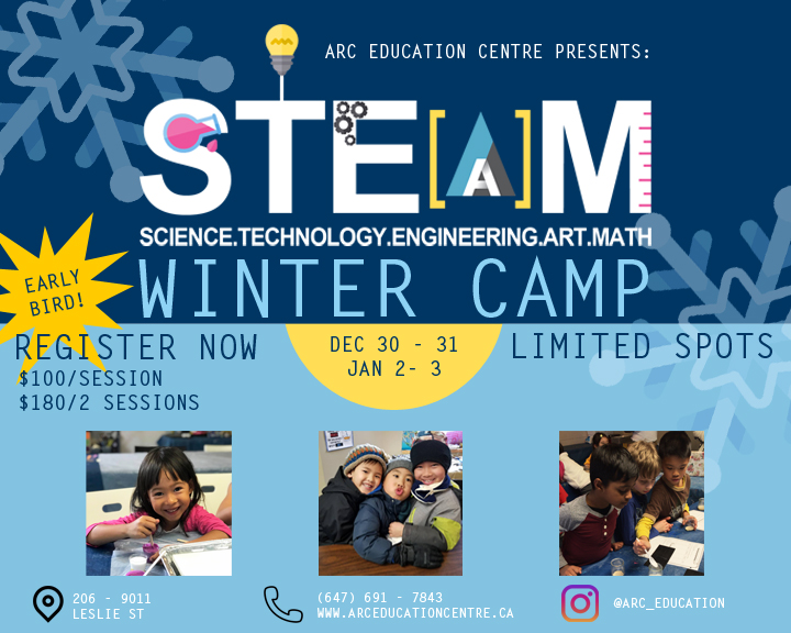 S.T.E.A.M. WINTER CAMP picture