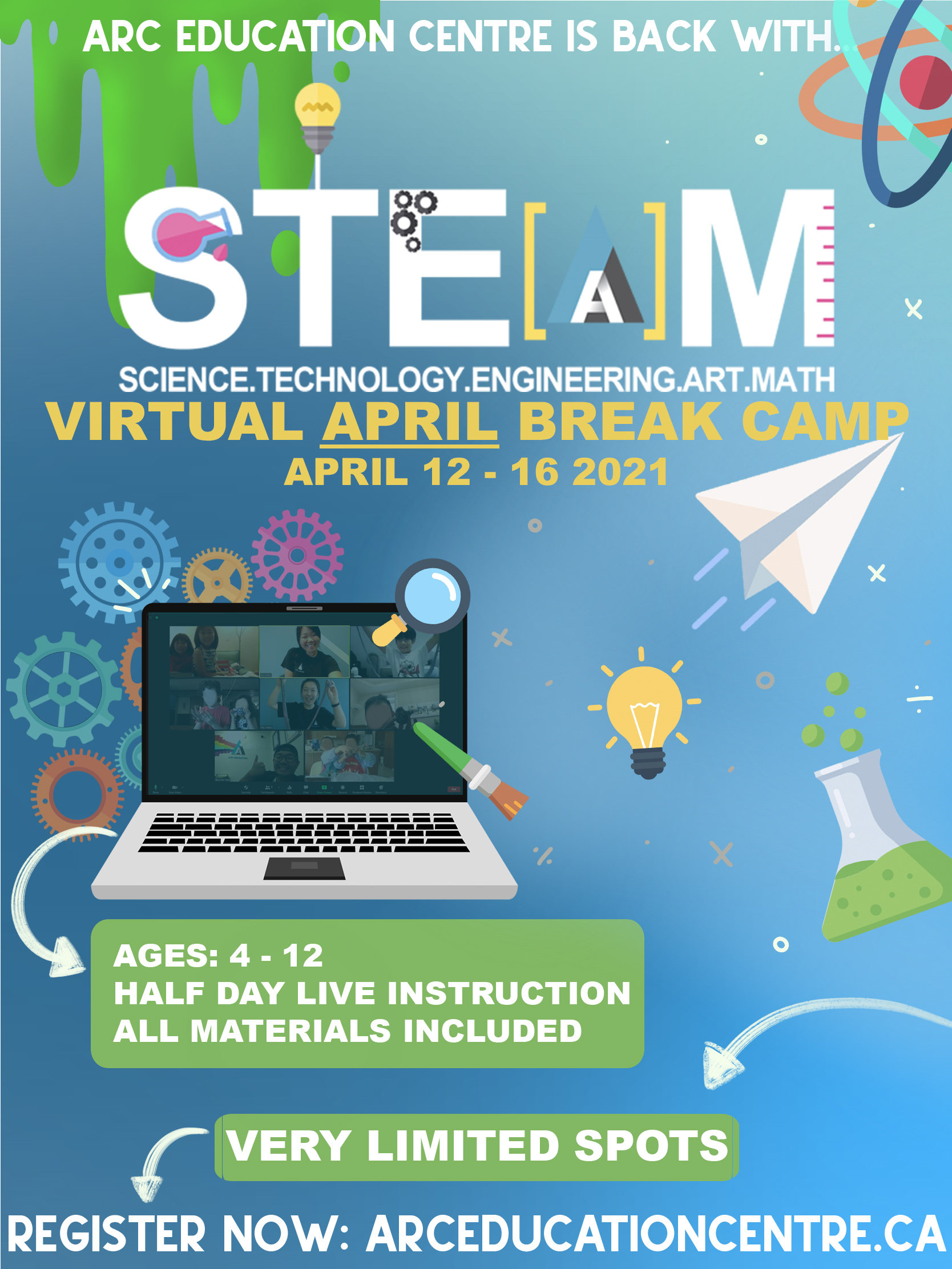 S.T.E.A.M. Virtual April Break Camp picture