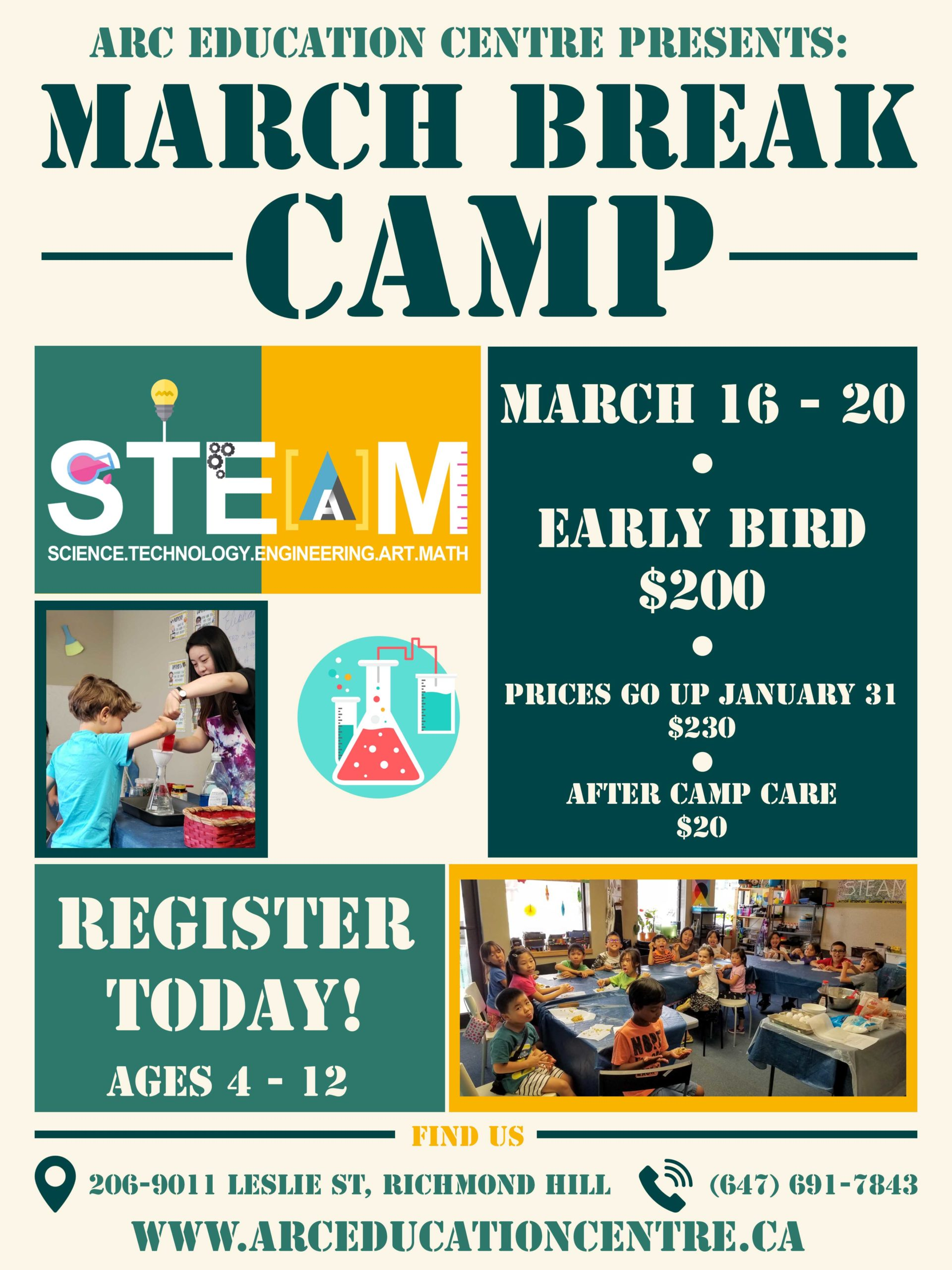 S.T.E.A.M. March Break Camp picture