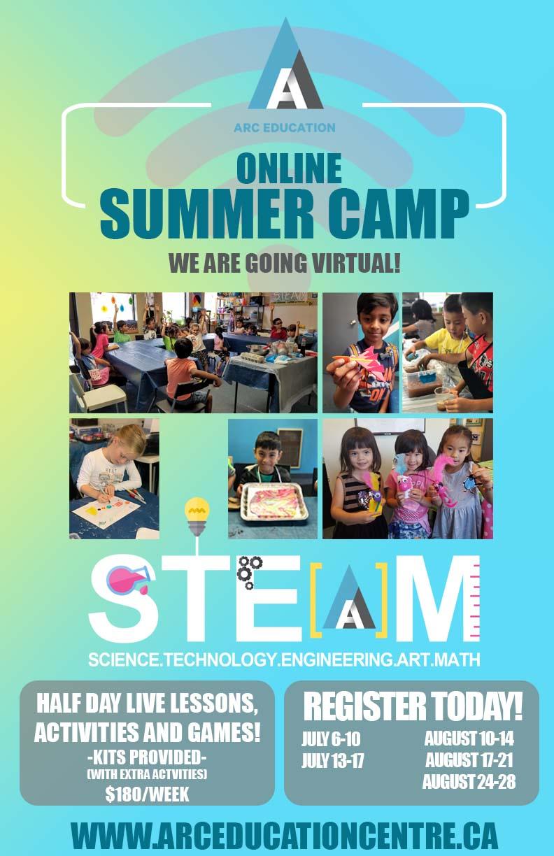 S.T.E.A.M. Virtual Summer Camp picture