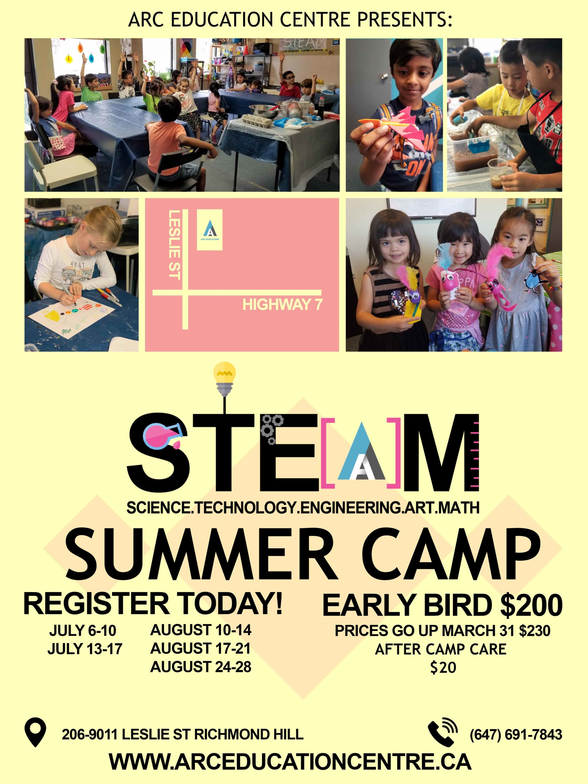 S.T.E.A.M. Summer Camp picture