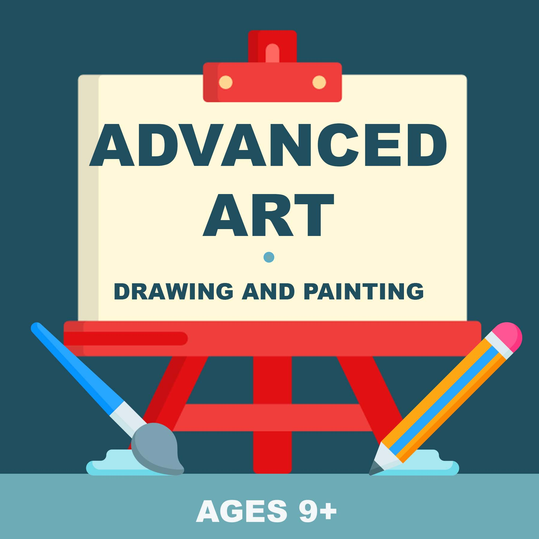Advanced Art: Drawing and Painting picture